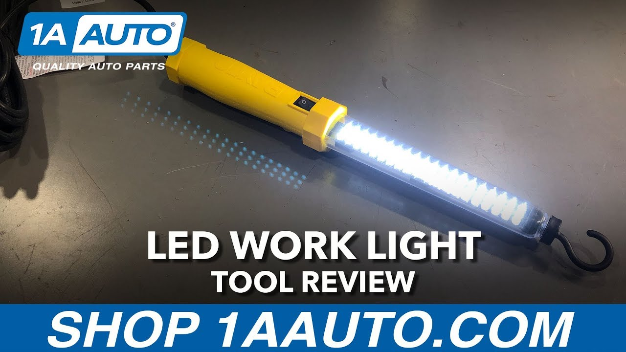 Yellow Magnetic Work Light - Available on 1aauto.com