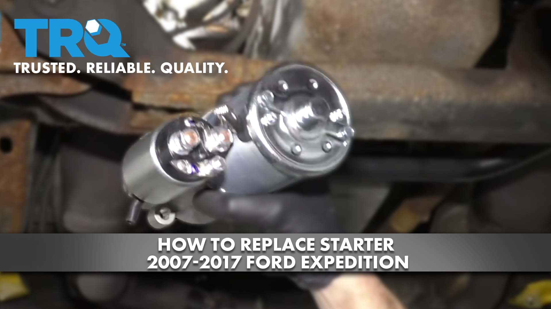 How to Replace Starter 2007-17 Ford Expedition