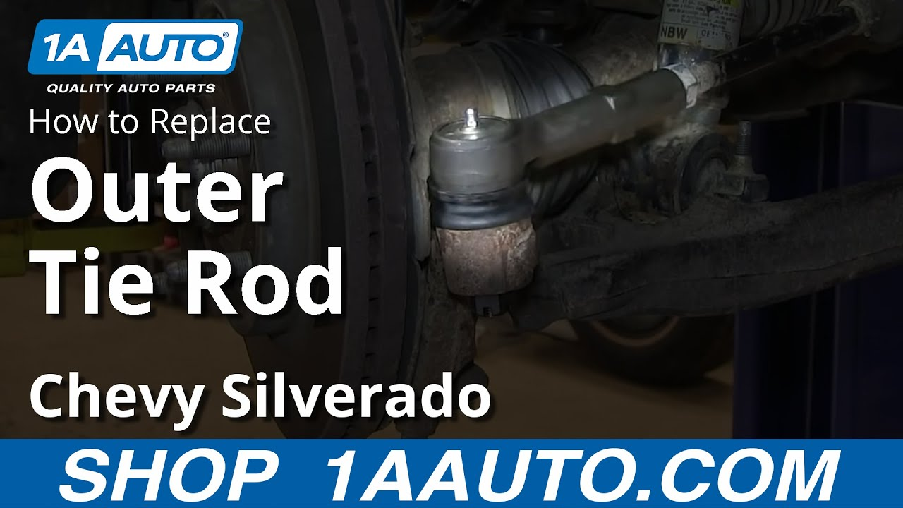 How To Replace Outer Tie Rods 07-13 Chevy Silverado