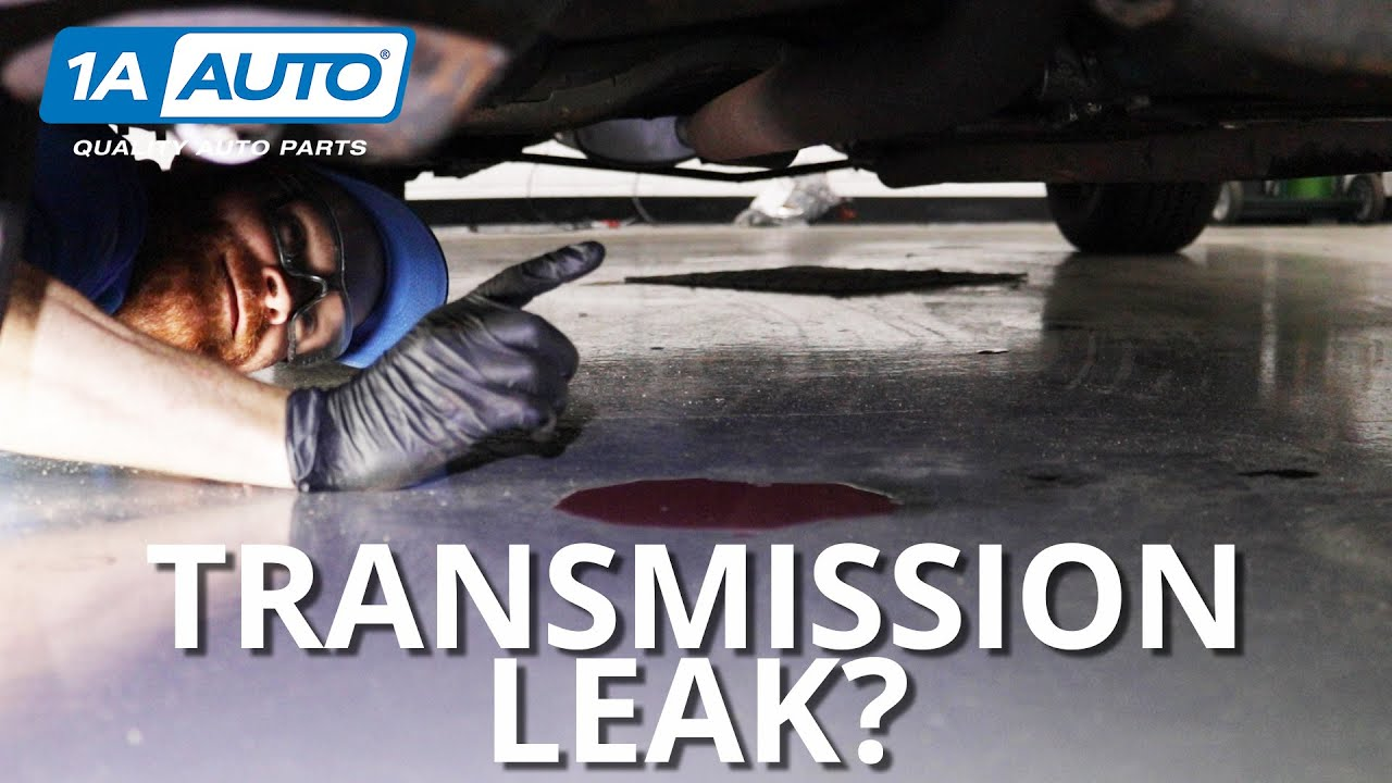 Puddle Under Your Car or Truck How to Diagnose Transmission Leaks