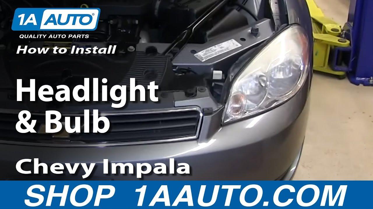 How to Replace Headlight 06-13 Chevy Impala | 1A Auto