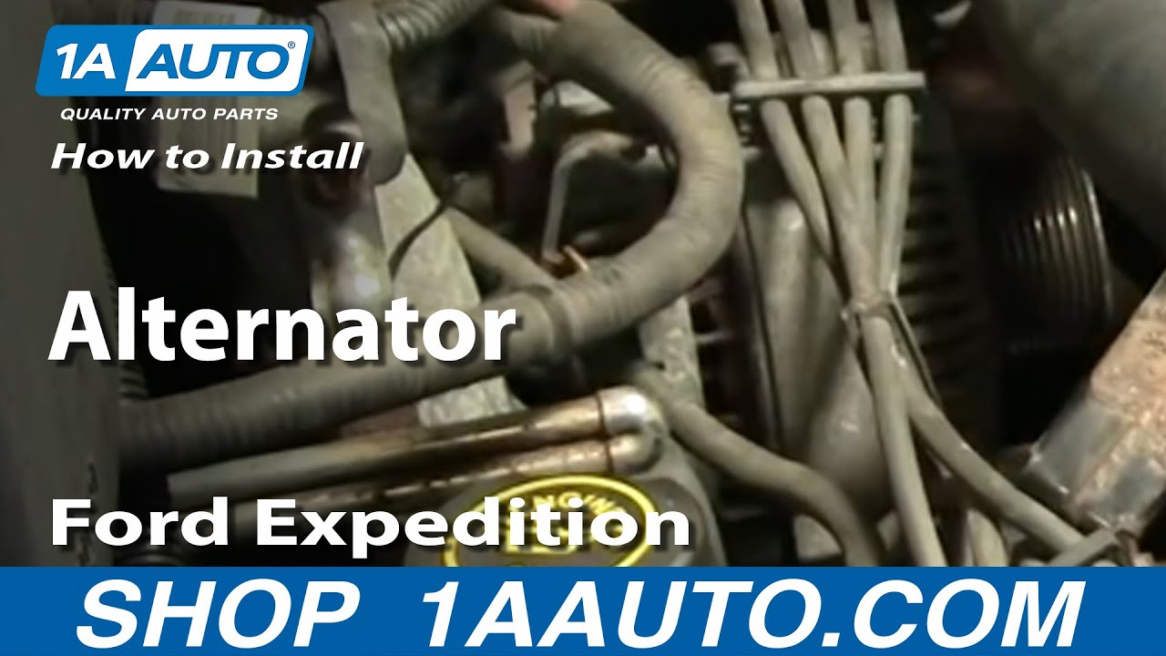 How To Replace Alternator 97-03 Ford Expedition | 1A Auto Unplug Wiring Harness Alternator on alternator harness connector, alternator charging system, battery harness, alternator ground wire, ford alternator conversion harness, ignition switch harness, alternator battery terminal, alternator adapter harness, alternator mounting kit, alternator ignition wire, automotive relay harness, alternator electrical plug, alternator conversion kit, alternator repair harness, alternator belt, alternator gauges, alternator filter, alternator rpm sensor, alternator voltage regulator, alternator fusible link,