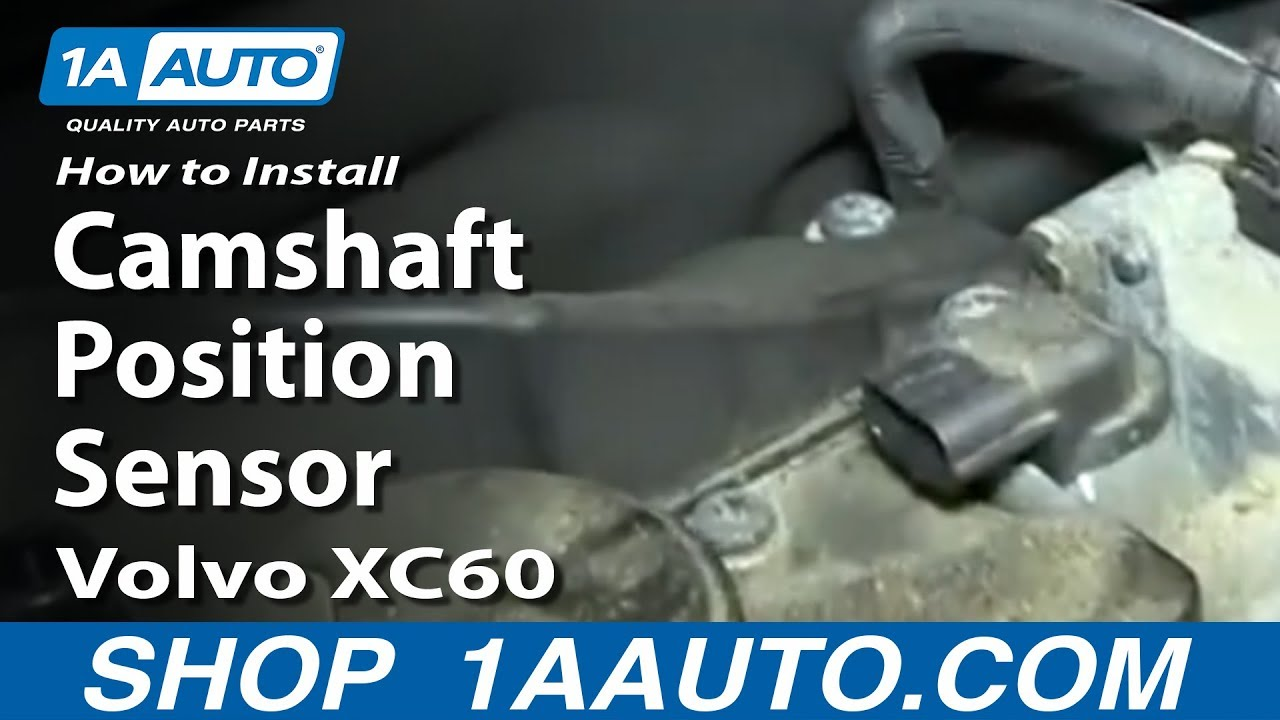 How To Replace Camshaft Position Sensor  09-17 Volvo XC60