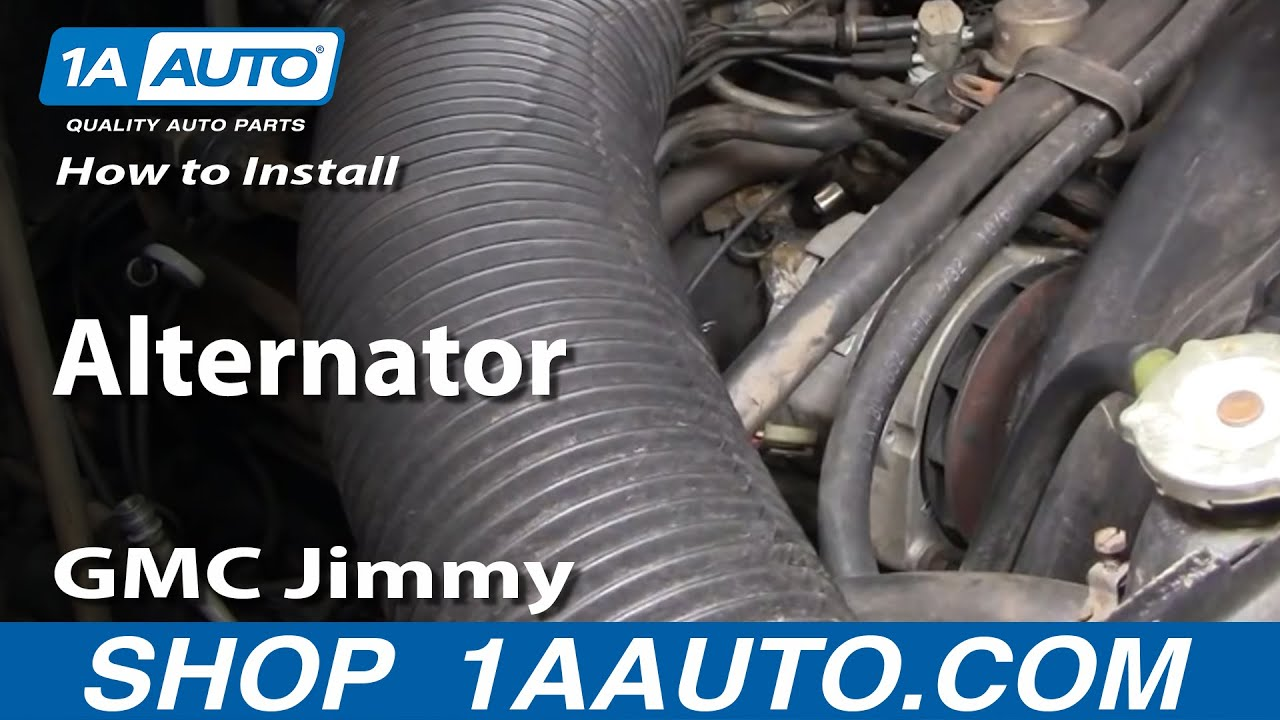 How to Replace Alternator 73-82 GMC Jimmy Full Size