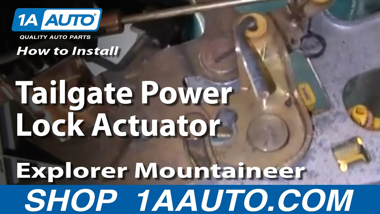 How To Replace Door Lock Actuator 97 02 Ford Expedition