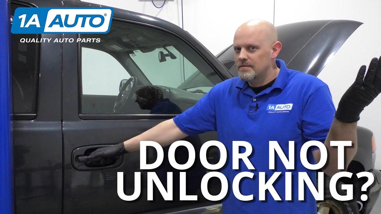 Door Not Unlocking Diagnosing Truck or Car Door Latch Problems