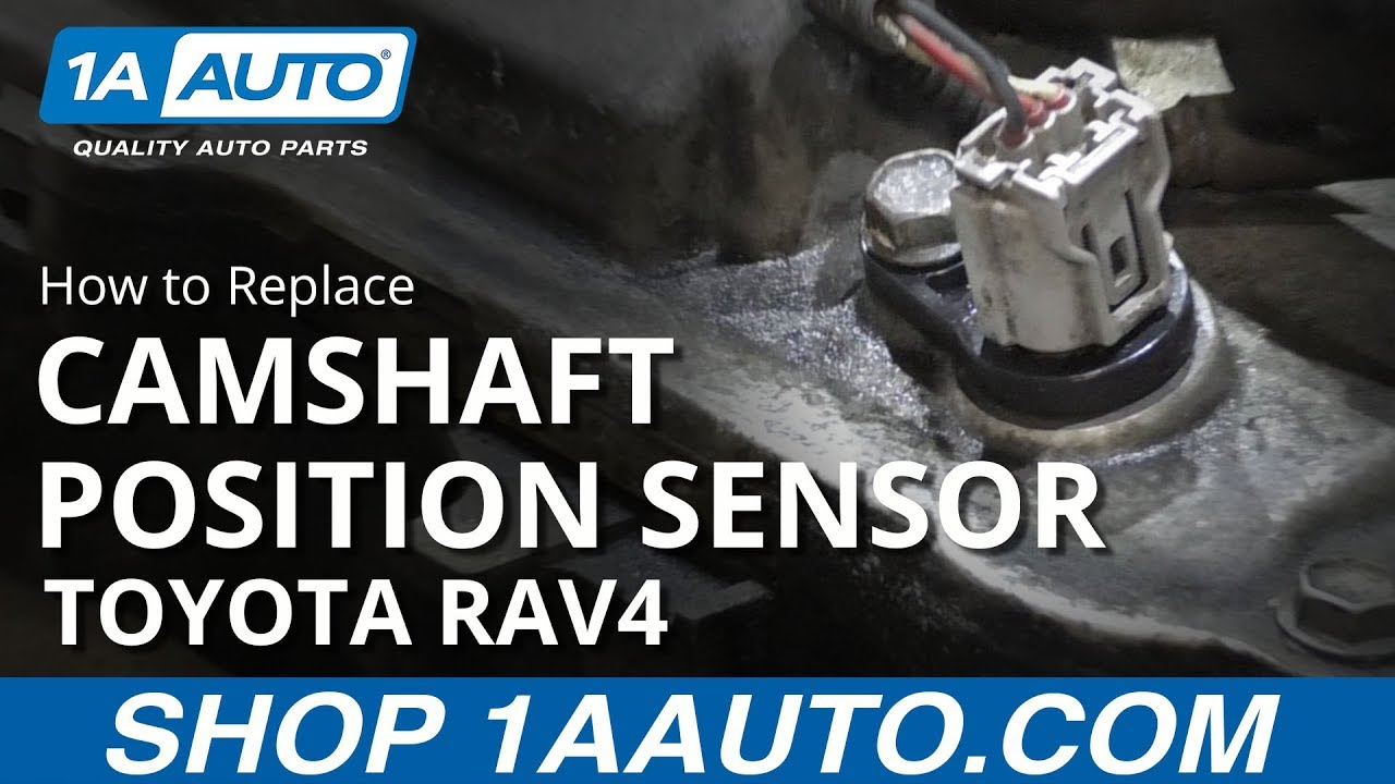 How to Replace Exhaust Camshaft Position Sensor 06-13 Toyota RAV4