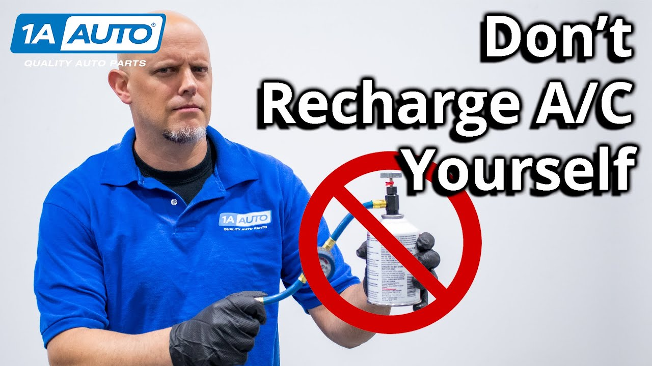 Why You Should Not Recharge Your Truck or Cars AC Yourself