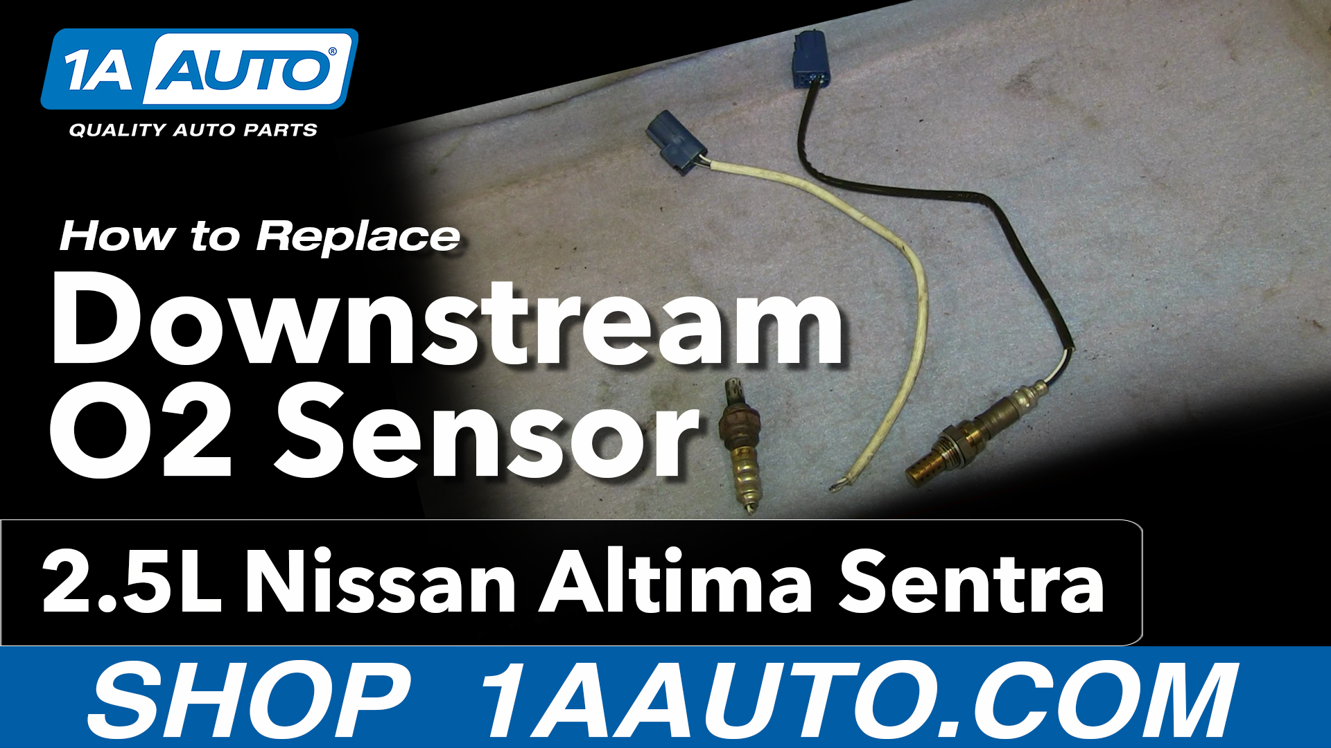 How to Replace O2 Oxygen Sensor 02-06 Nissan Altima