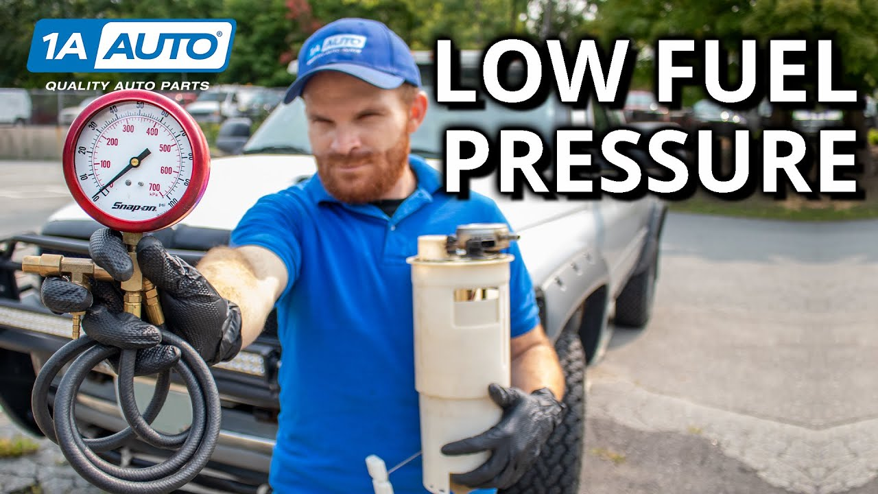 Throttle Lag, Hard Starts, Stalls? How to Diagnose Low Fuel Pressure!