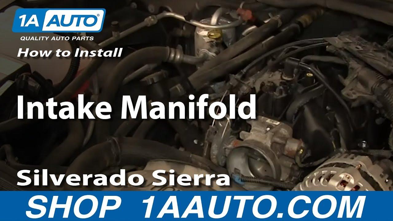 How to Replace Intake Manifold 99-06 Chevy Silverado | 1A Auto