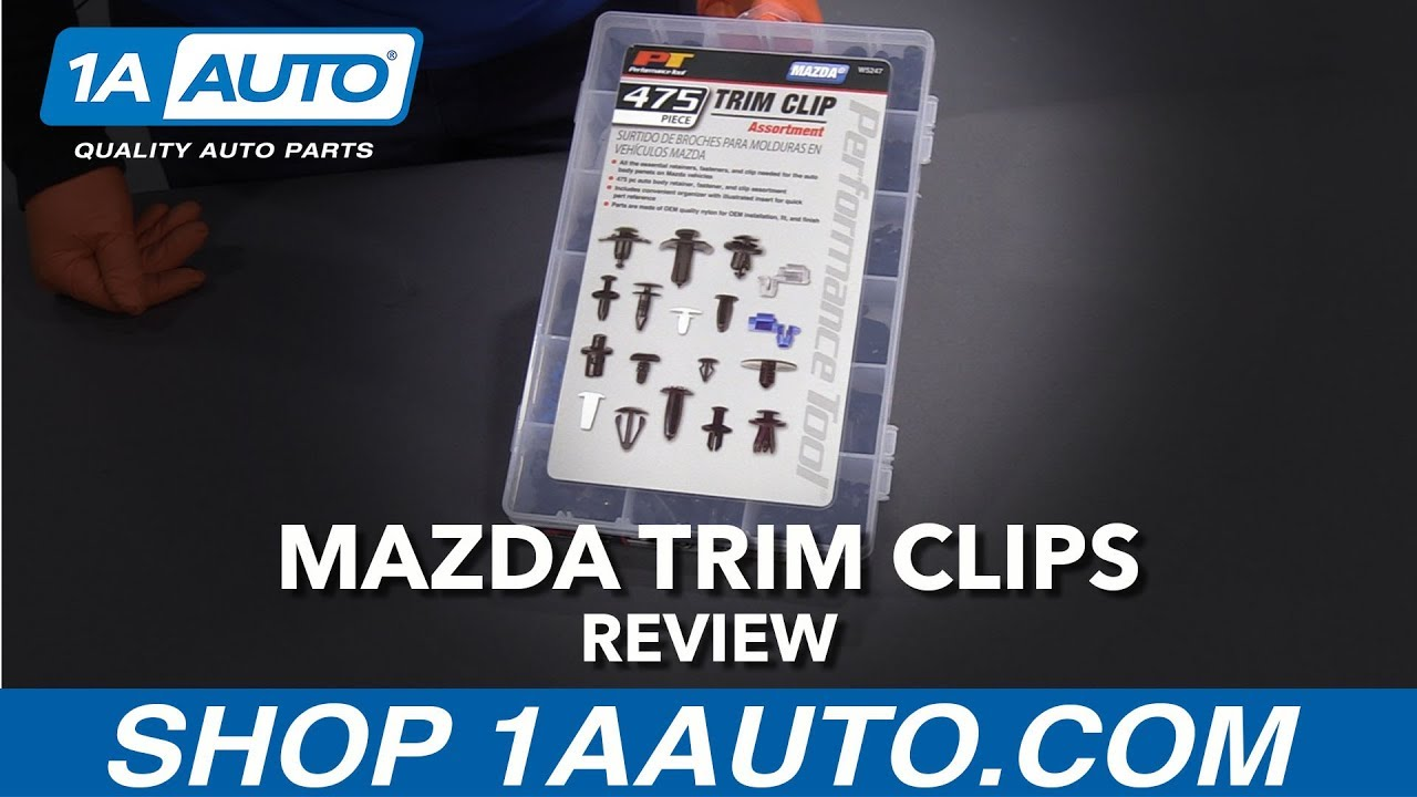 475pc Mazda Trim Clip Assortment - Available at 1AAuto.com