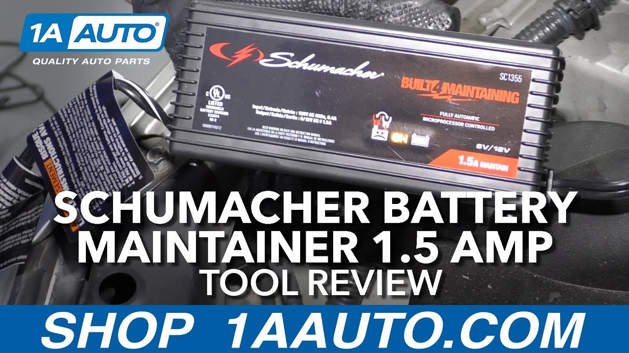 Schumacher Battery Maintainer 1.5 Amp - Available at 1AAuto.com