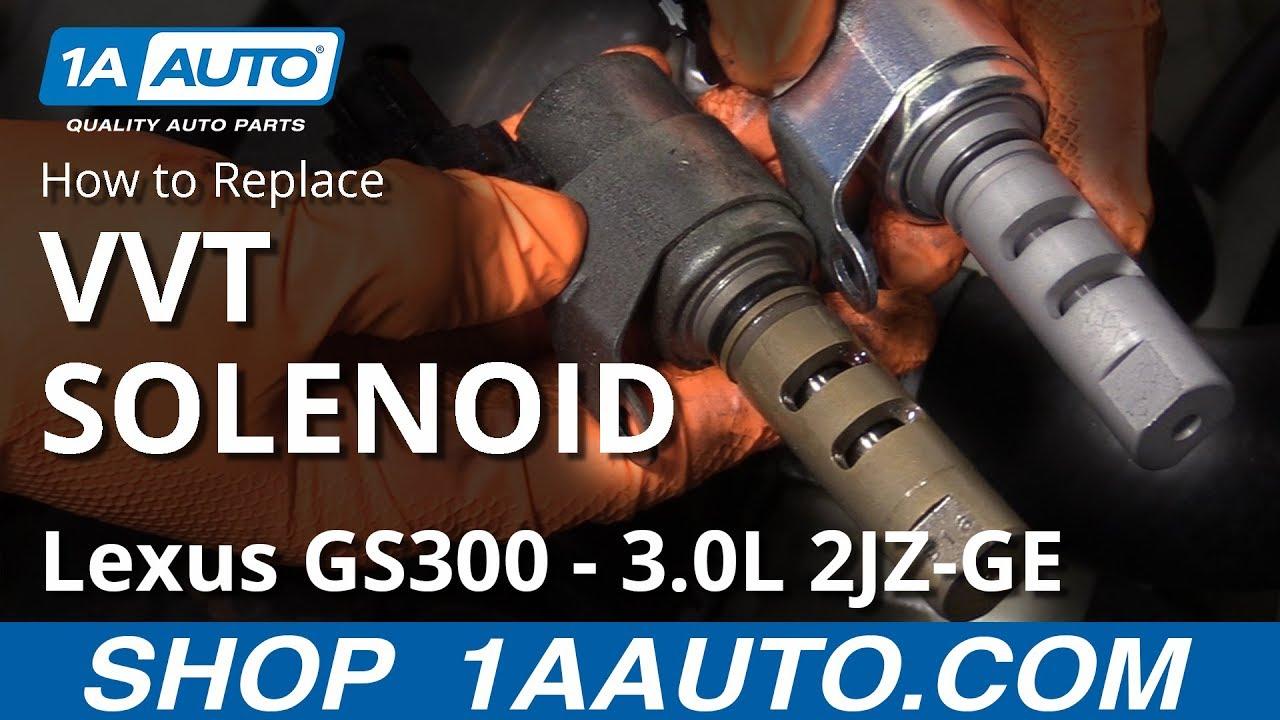 How to Replace VVT Solenoid 97-05 Lexus GS300 3.0L 2JZ-GE