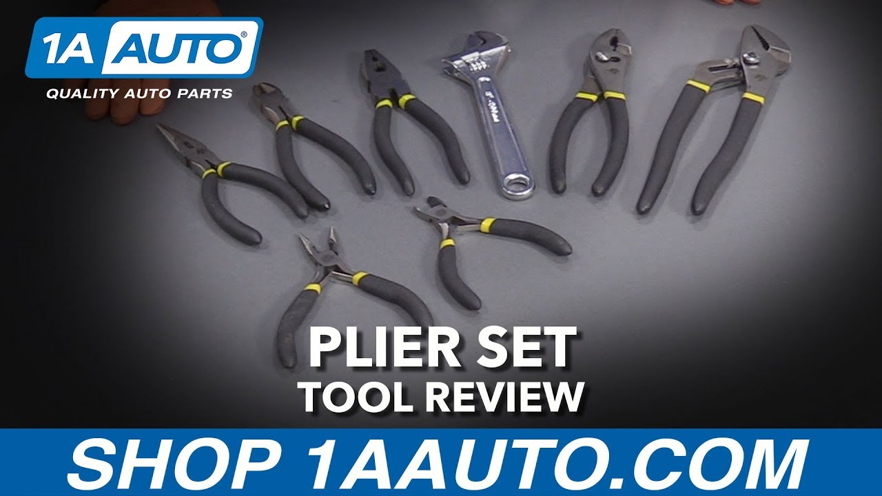8 Piece Plier Set - Available at 1AAuto.com