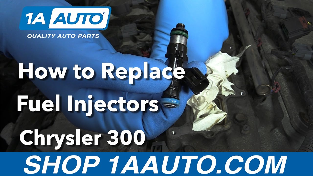 How To Replace Fuel Injectors 05