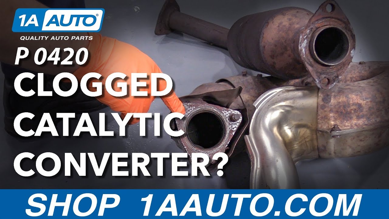Trouble Code P0420/P0430: Is My Catalytic Converter Clogged?