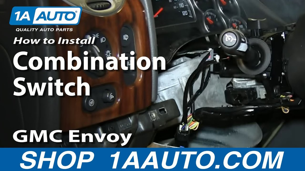 How to Replace Combination Switch 02-06 GMC Envoy XL