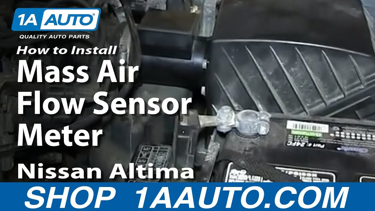 How to Replace Air Flow Meter with Housing 98-01 Nissan Altima