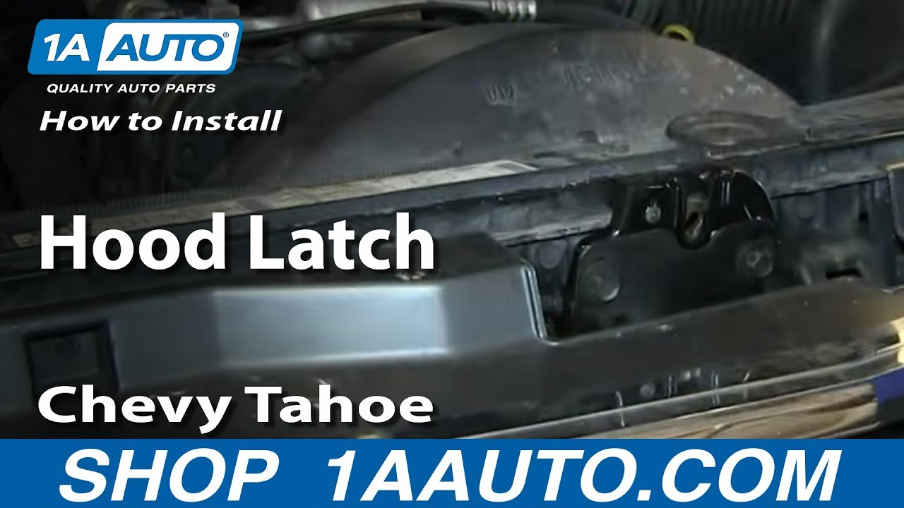 How to Replace Hood Latch 95-99 Chevy Tahoe