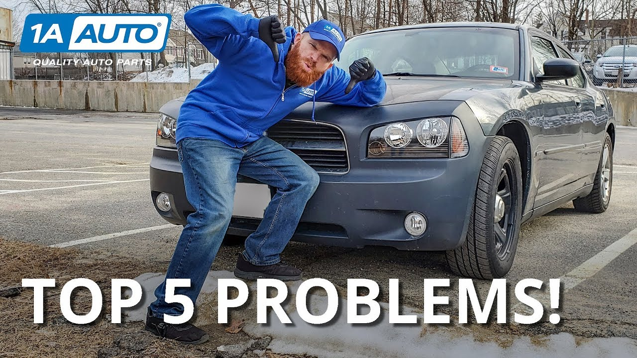 Top 5 Problems - 2008 Dodge Charger (6th Generation 2006-2010)