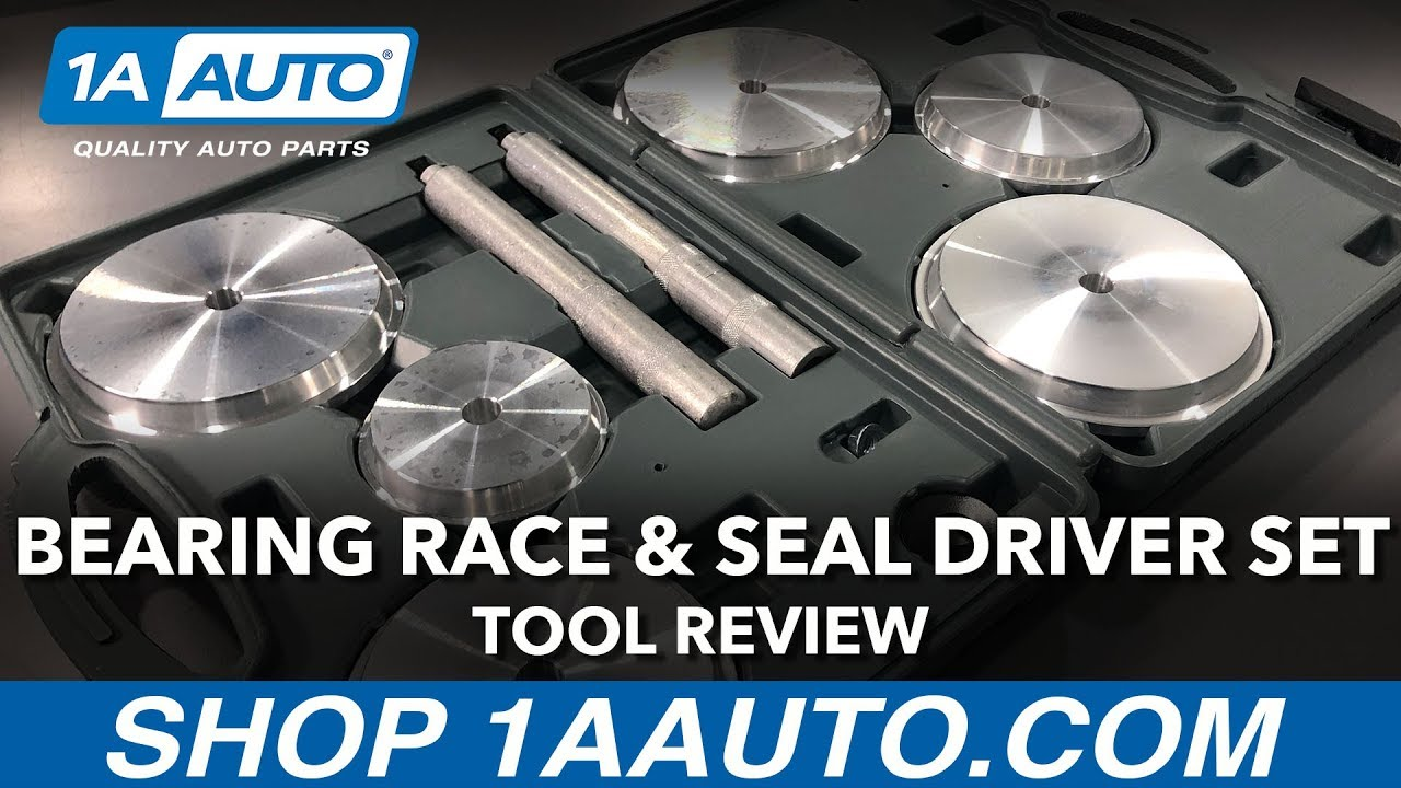 HD Truck Bearing Race & Seal Driver Set - Available on 1aauto.com