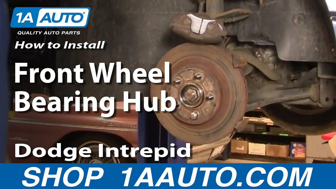 How to Replace Front Wheel Bearing & Hub 93-04 Dodge Intrepid
