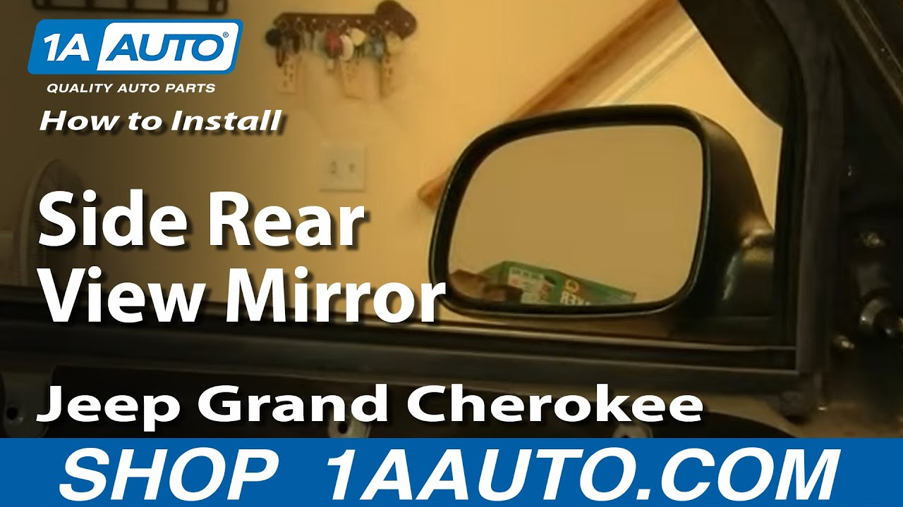 How to Replace Mirror 99-04 Jeep Grand Cherokee  Jeep Grand Cherokee Door Wiring on 94 grand cherokee fuse diagram, 94 grand cherokee transmission diagram, 94 grand cherokee headlights, 94 grand cherokee won't start,