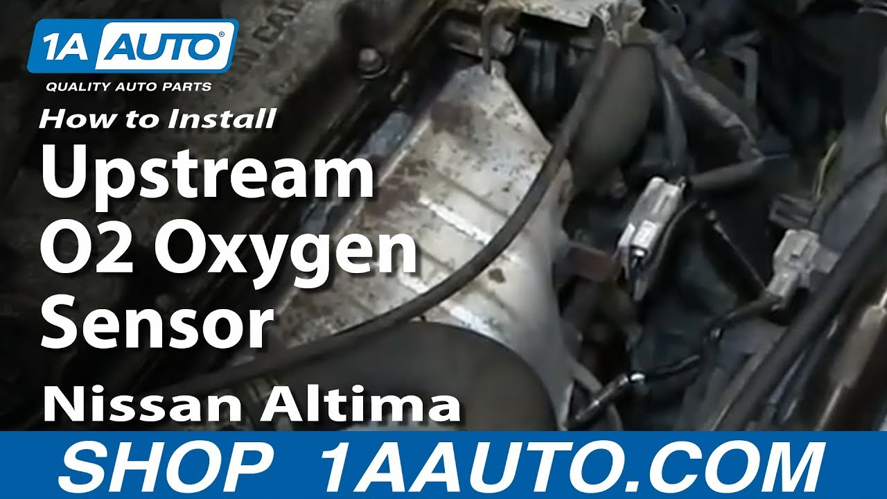 How to Replace O2 Oxygen Sensor 96-99 Nissan Altima