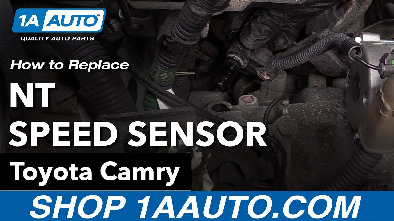 How to Replace NT Speed Sensor 06-11 Toyota Camry