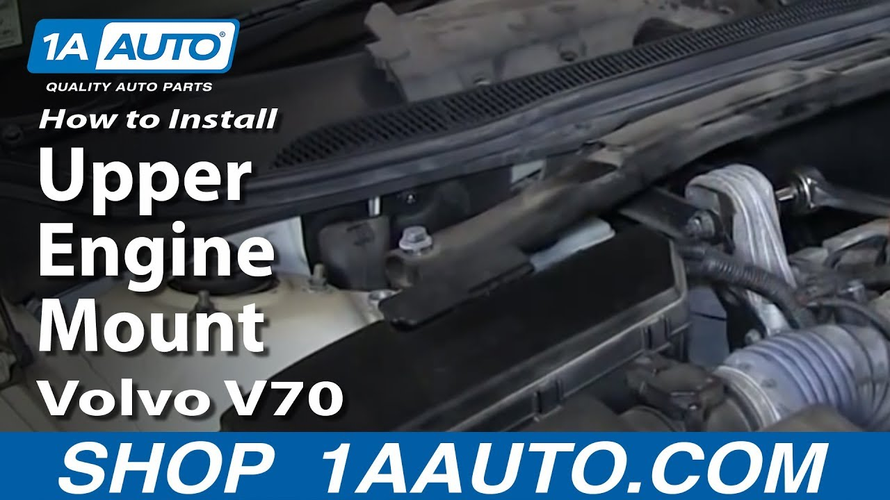 How to Replace Engine Mount 99-07 Volvo V70