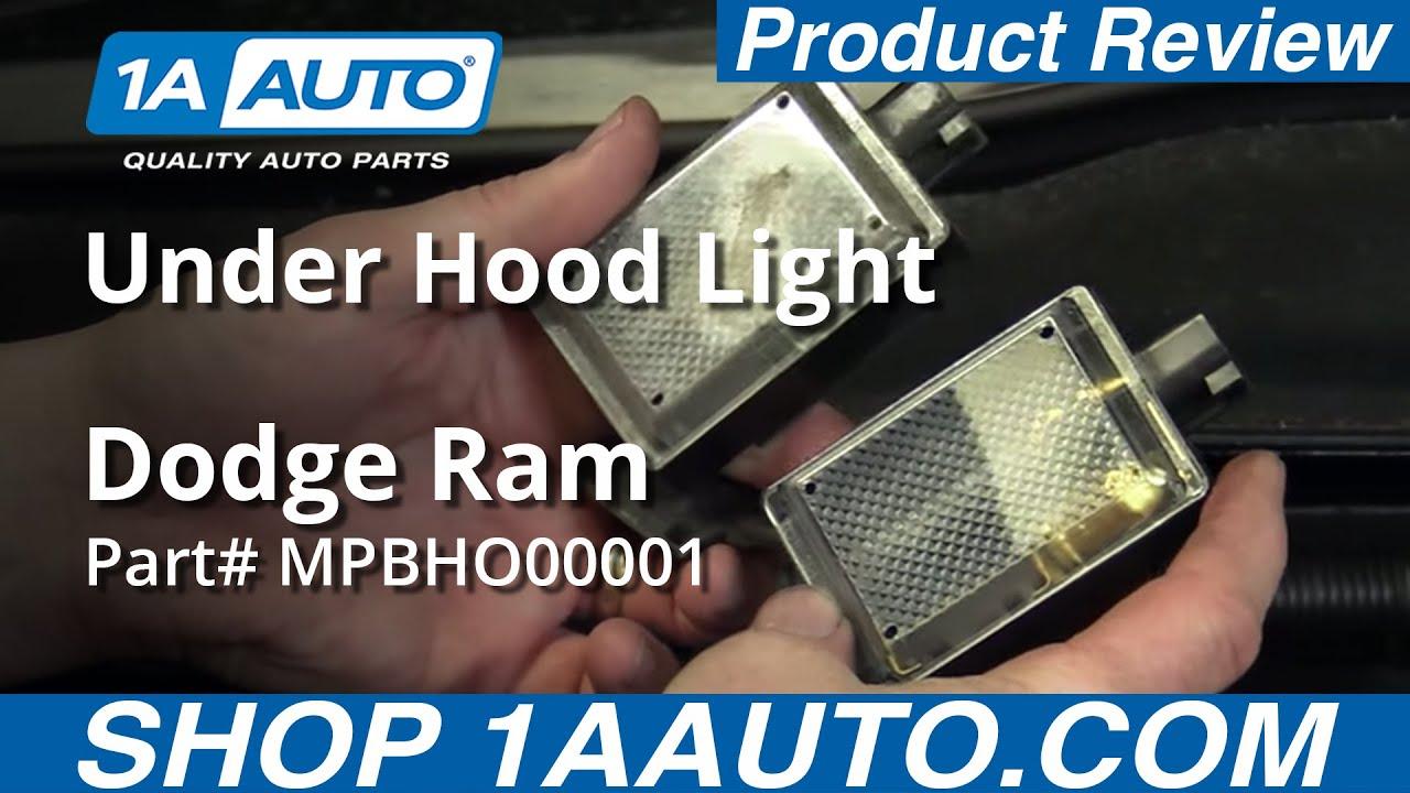 Product Review - Dodge Ram Under Hood Light