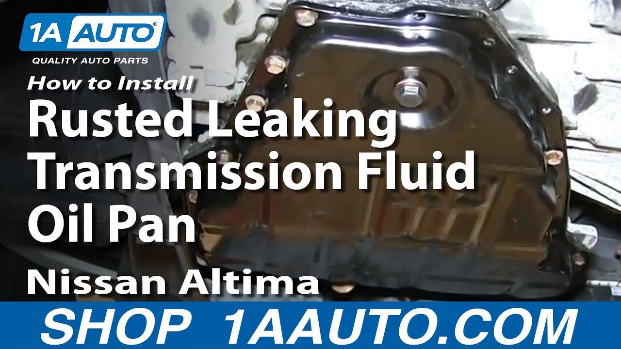 06 nissan altima transmission removal