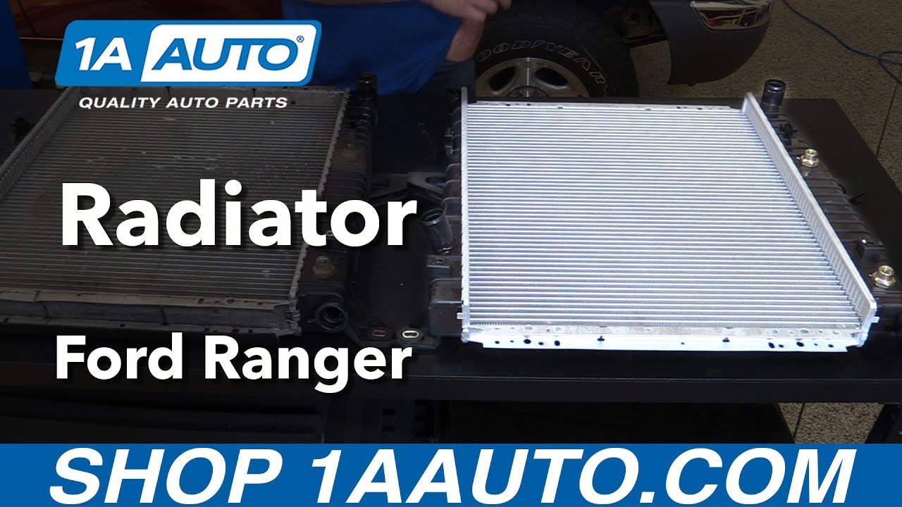 How to Replace Radiator 98-11 Ford Ranger V6 4 0L
