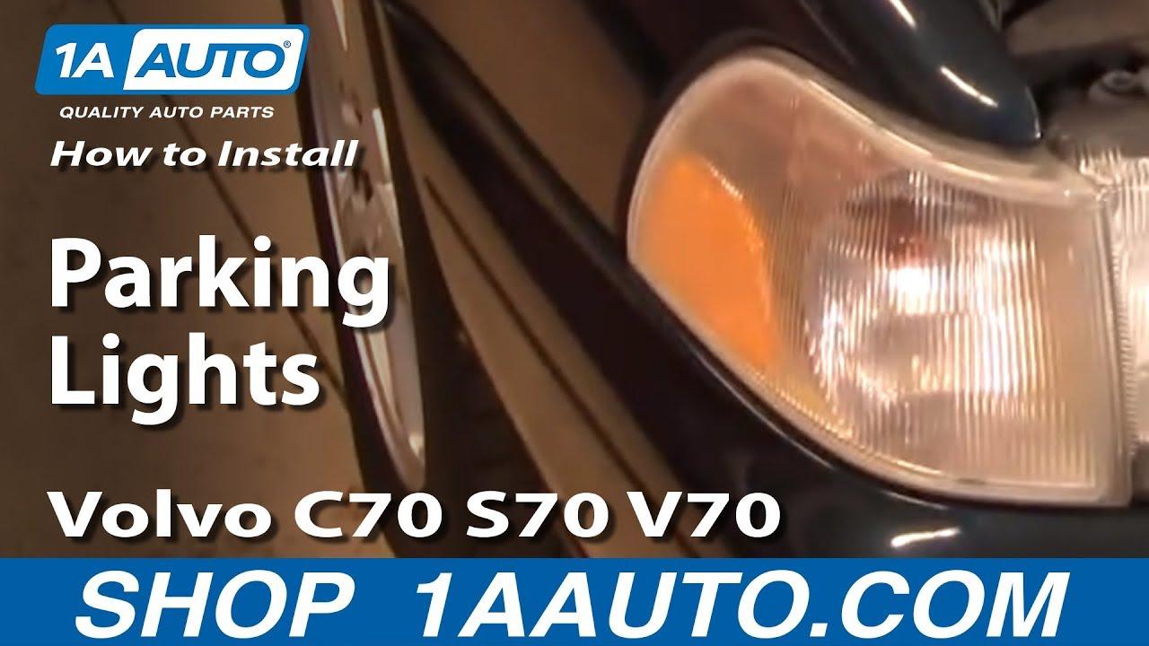 How to Replace Corner Light 98-00 Volvo S70