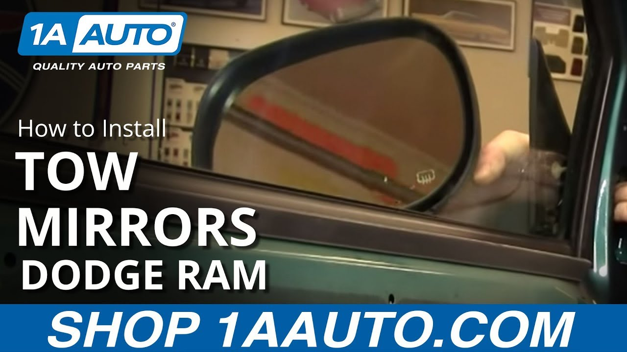 how to upgrade to tow mirrors 98 01 dodge ram part 1 1a auto 99 dodge ram power mirror wiring diagram dodge mirror wiring diagram #10
