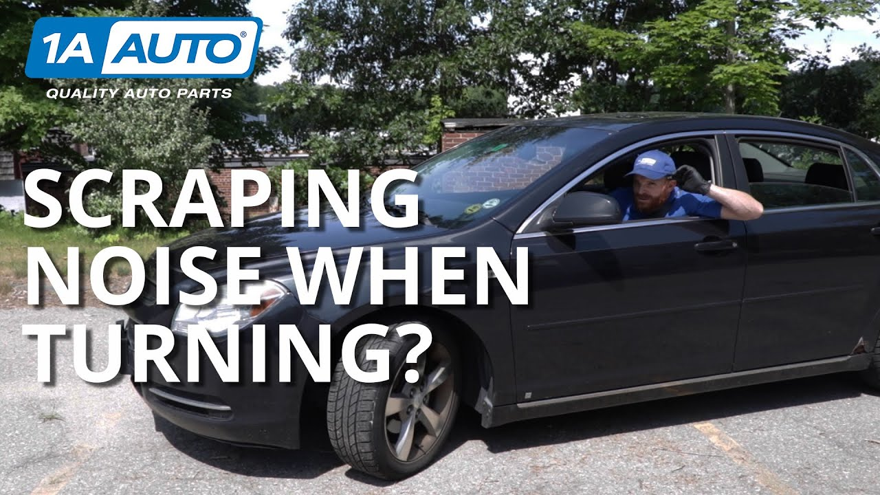 Scraping or Grinding Noise While Turning? How to Inspect Your Brakes!
