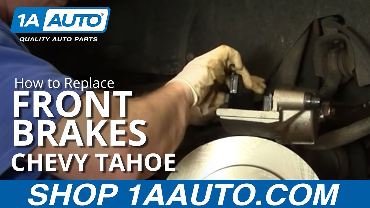 How to Replace Front Brakes 95-00 Chevy Tahoe