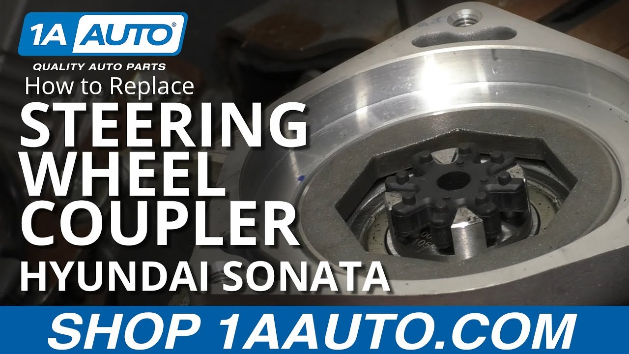 How to Replace Steering Wheel Coupler 11-14 Hyundai Sonata