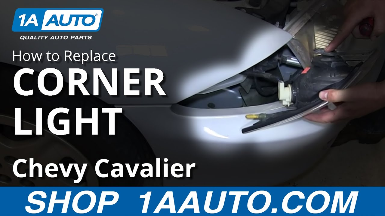 How to Replace Corner Light 00-03 Chevy Cavalier