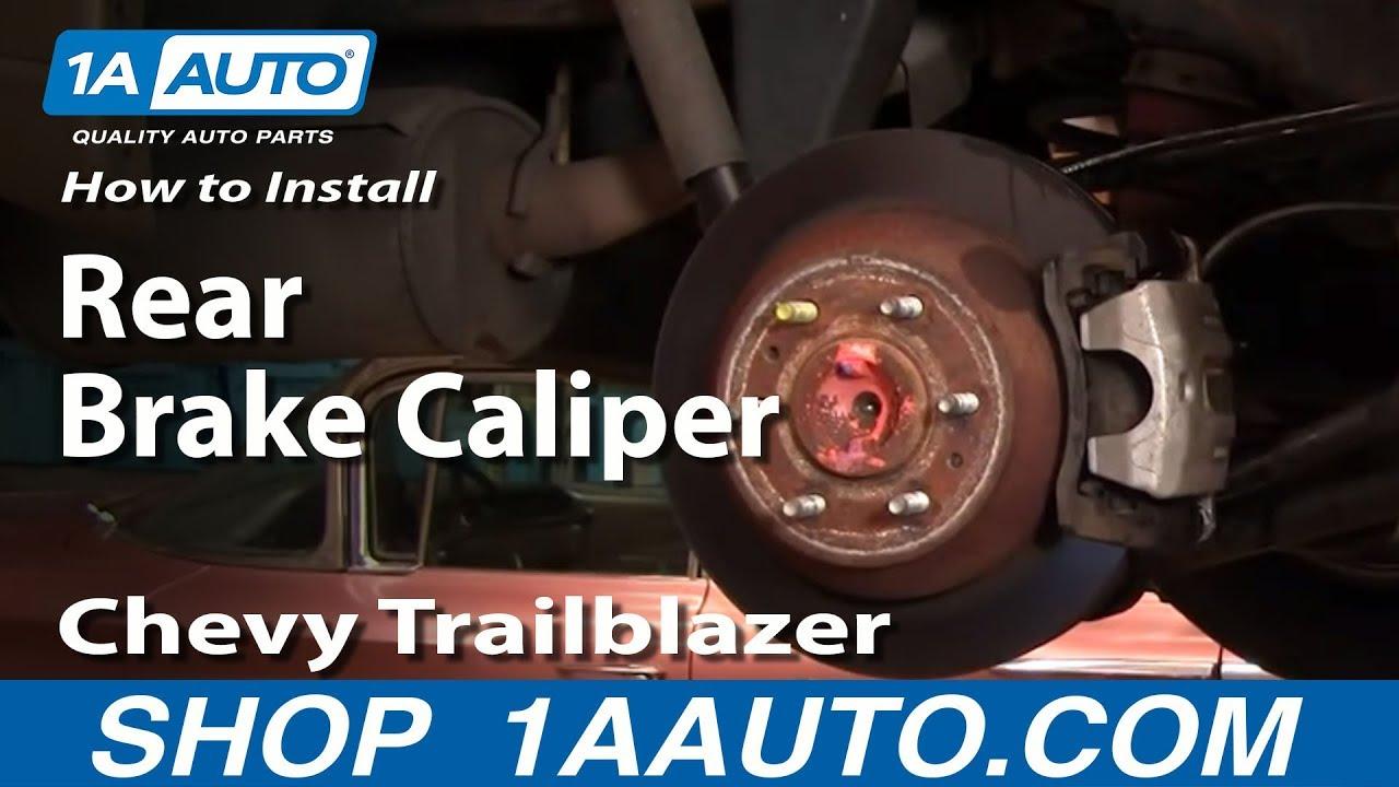 How To Replace Rear Brake Caliper 02-09 Chevy Trailblazer