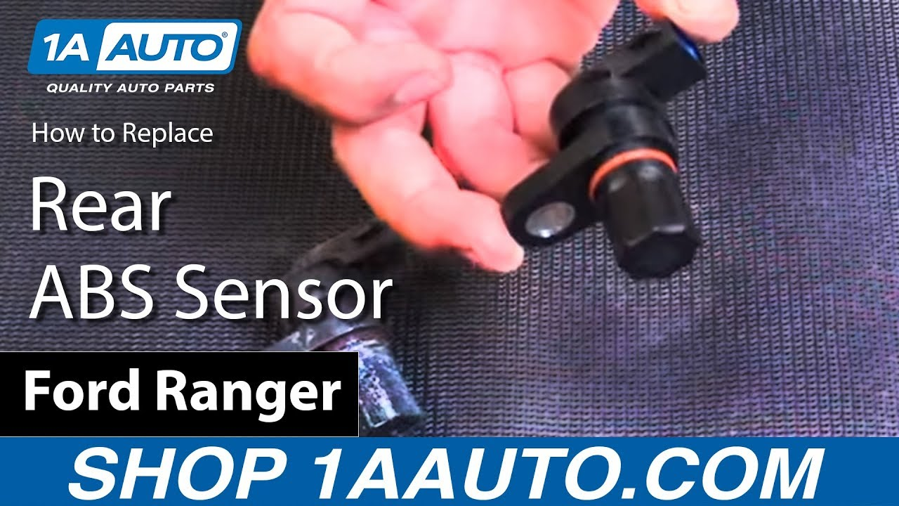 How to Replace Rear ABS Sensor 90-07 Ford Ranger