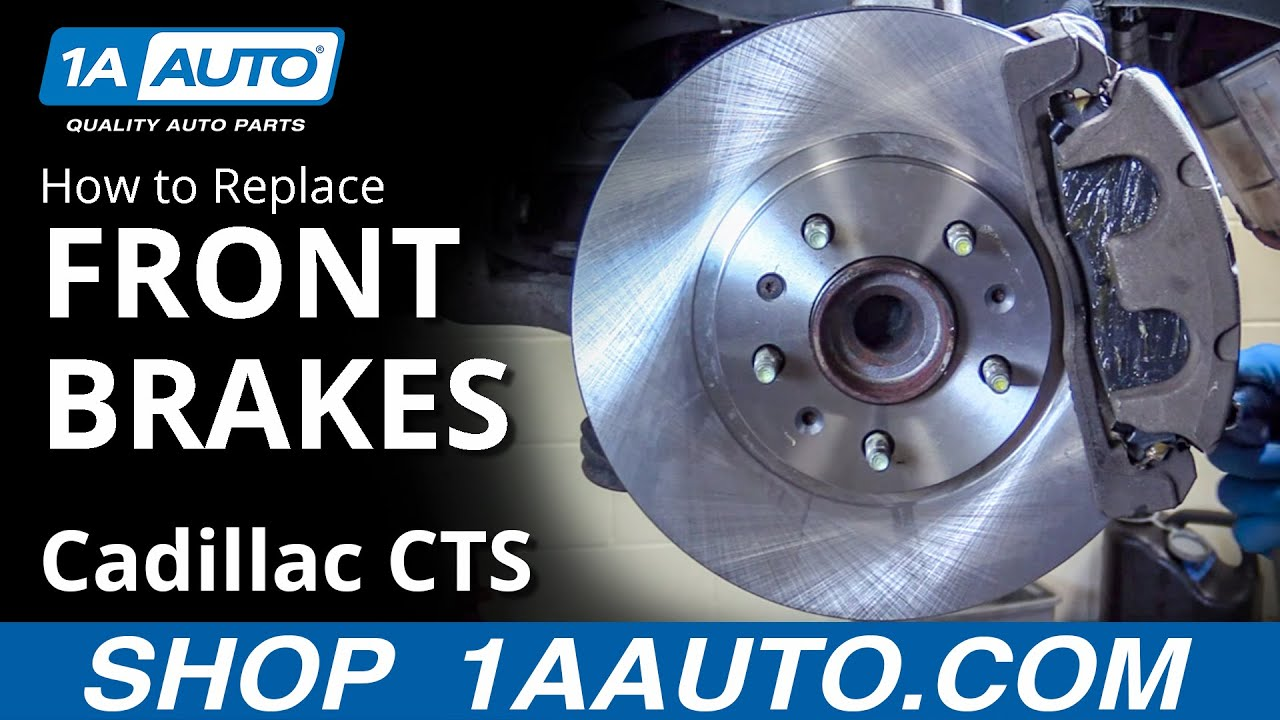 For Cadillac CTS STS 5-Lug w// 298mm Rear Disc Rear Brake Pads And Rotors Kit