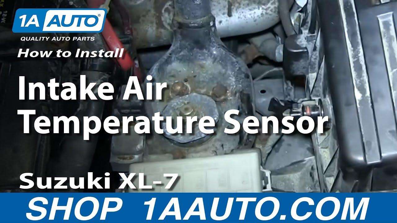 How To Replace Intake Air Temperature Sensor 98-06 Suzuki XL-7