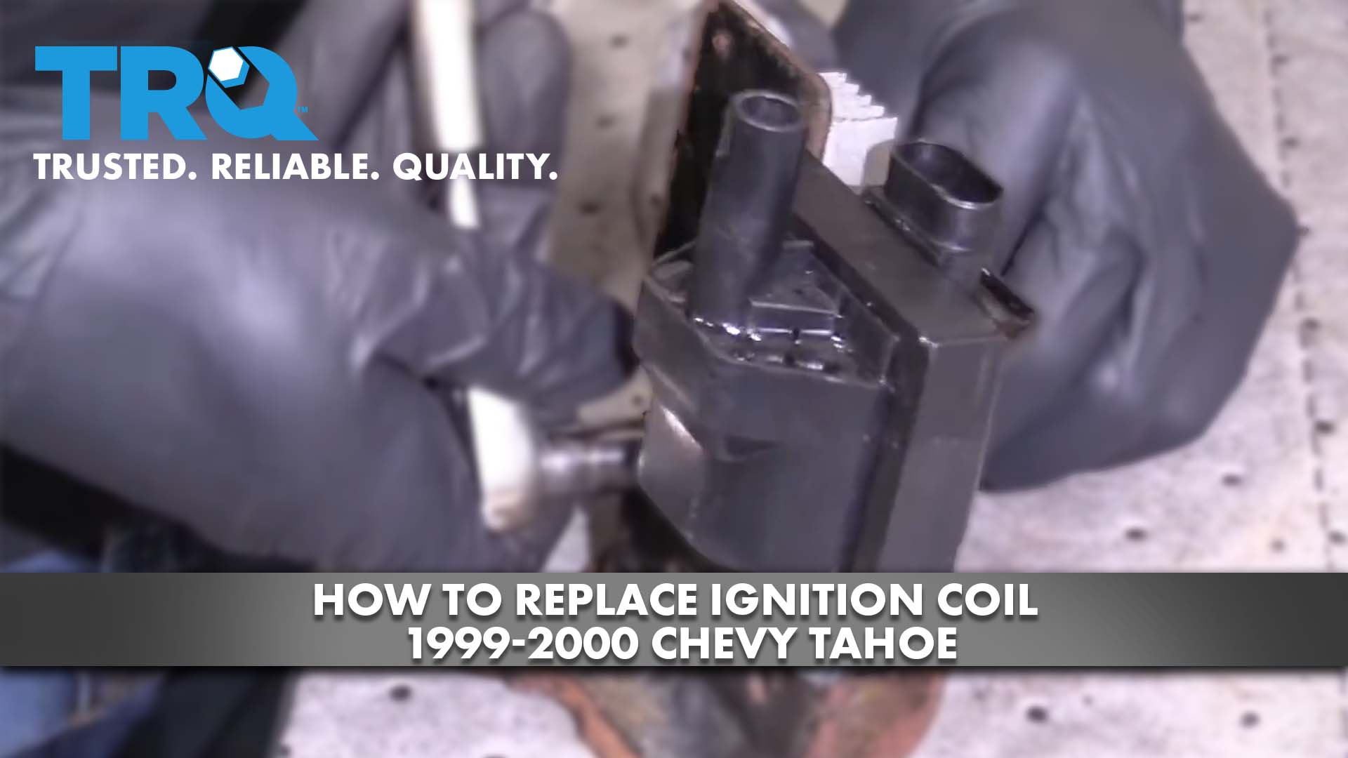How to Replace Ignition Coil 1999-00 Chevy Tahoe