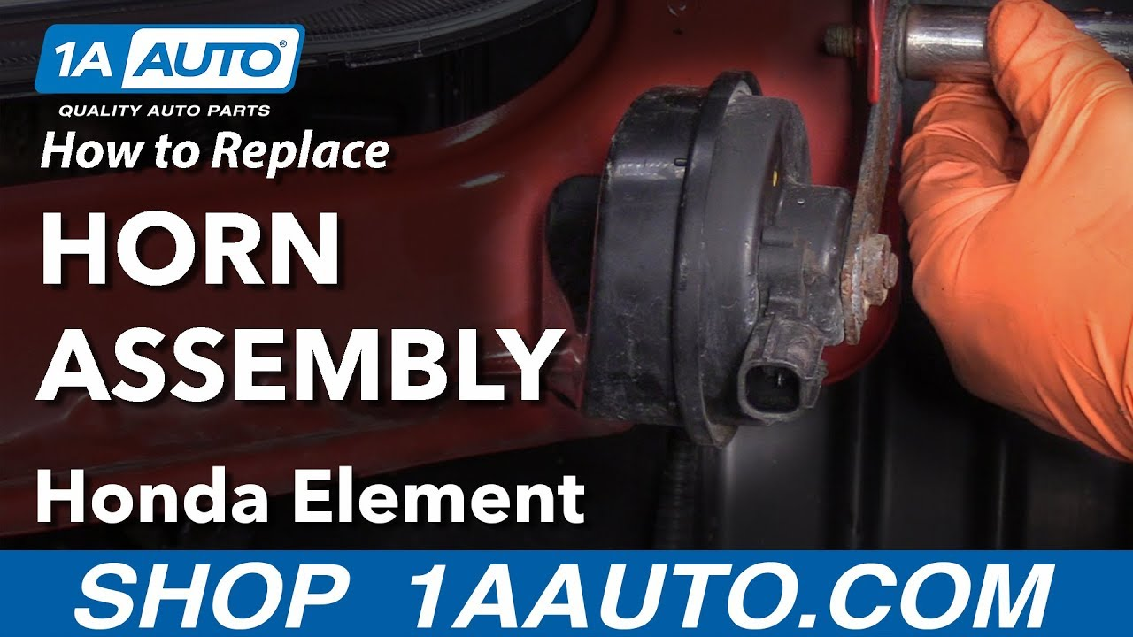 How to Replace Horn Assembly 03-11 Honda Element