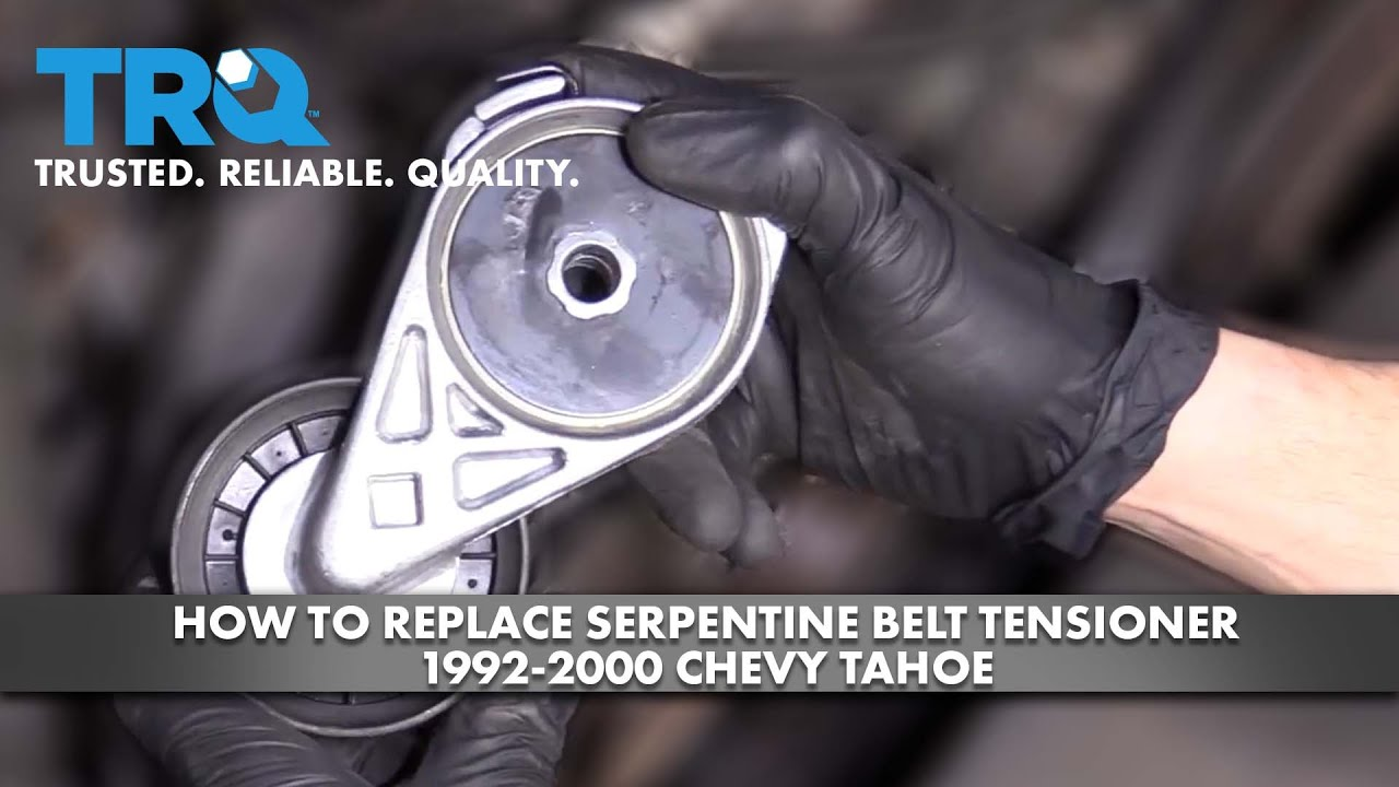 How to Replace Serpentine Belt Tensioner 1992-00 Chevy Tahoe