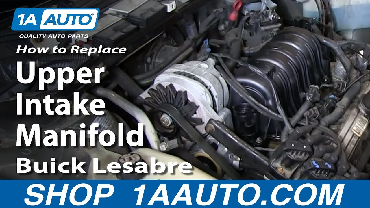 How to Replace Intake Manifold 96-05 Buick LeSabre | 1A Auto