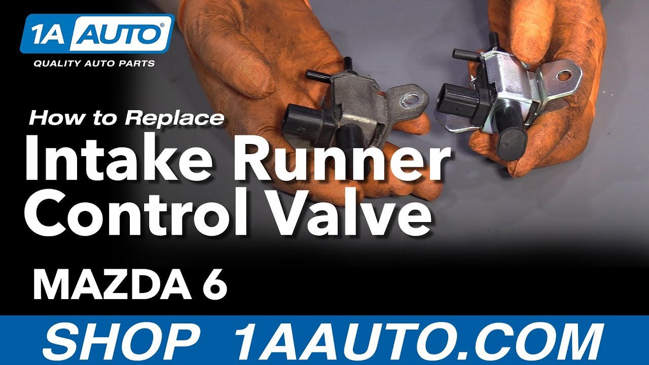 How To Replace Intake Runner Control Valve 2004-08 Mazda 6