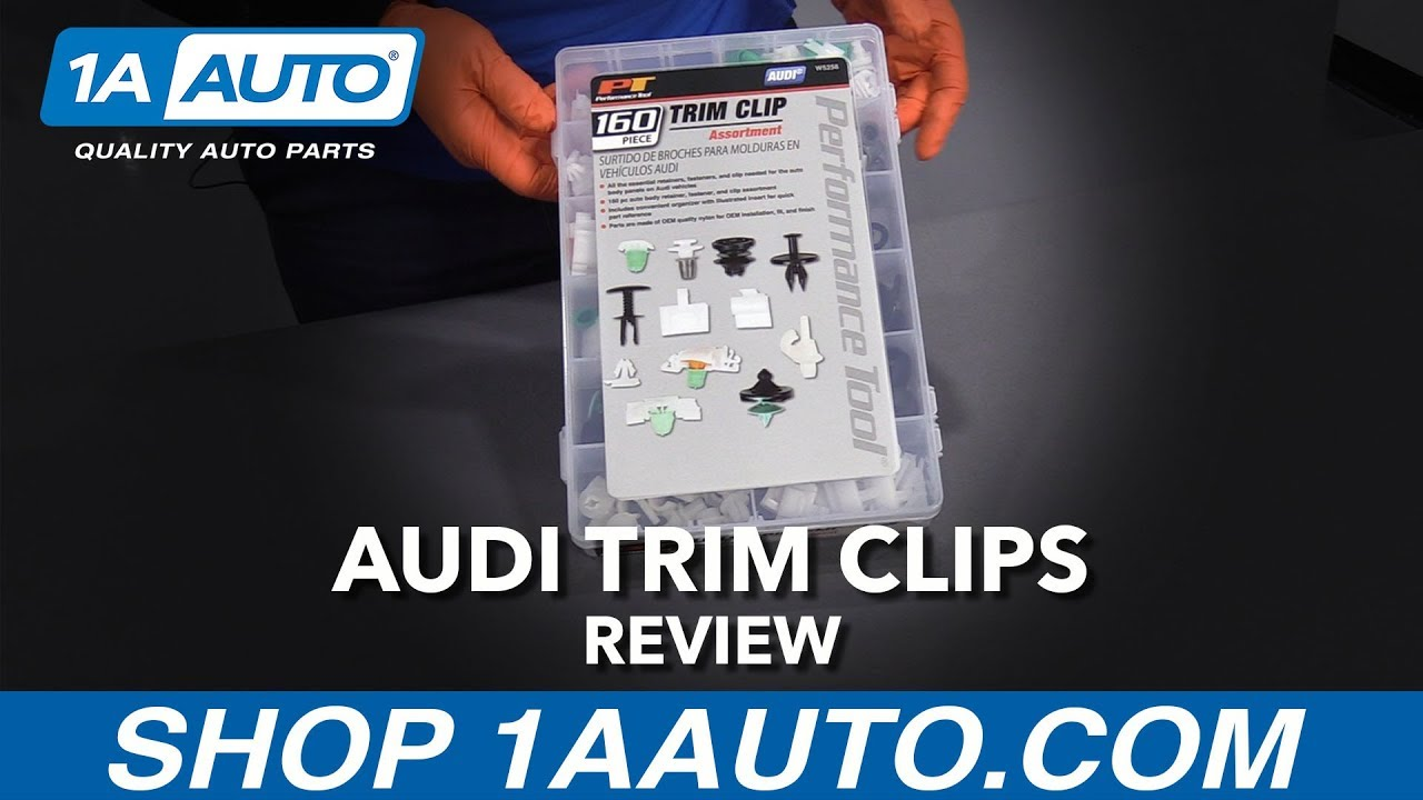 160pc Audi Trim Clip Assortment - Available at 1AAuto.com